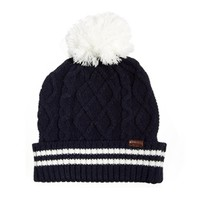 River Island Cable Bobble Hat