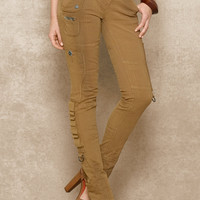 Stretch-Cotton Cargo Pant