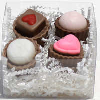 Glycerin Soap Chocolate Candy Bon Bons Valentine
