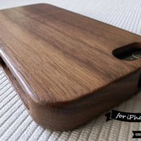 TOP-RATED SELLER: Natural Wood iPhone 5s Case / wood iPhone 5 Cover iPhone Case // Walnut Wood, Plain, Gifts, Tree, Minimal, Shades of Wood