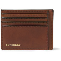 Burberry Shoes & Accessories - Leather Card Holder | MR PORTER