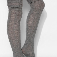 Gipsy Cable Over-The-Knee Sock - Urban Outfitters