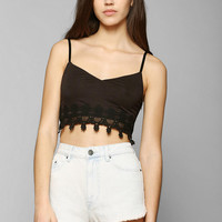 Pins And Needles Delicate Crochet-Trim Bra Top - Urban Outfitters