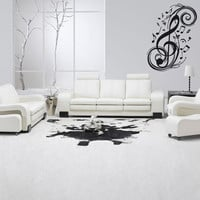 Wall Vinyl Decor Art Sticker Decals Mural Music Note (z013)