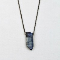 Altiplano Long Quartz Crystal Necklace / Grey - The Afternoon