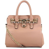 K68031L MyLux Top Double Handle handbag (pink68026)