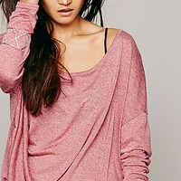 Free People Womens Buckley Drape Top -