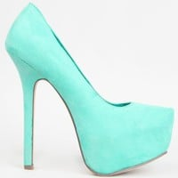 Breckelle's MARISA-21 Basic Classic Pointed Toe Platform High Heel Stiletto Party Pump