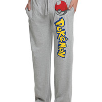 Pokemon Mens Pajama Pants