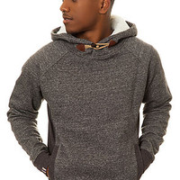 The Dee Pullover Hoody in Charcoal Marl