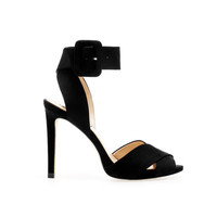 HIGH HEEL SANDAL WITH ANKLE STRAP