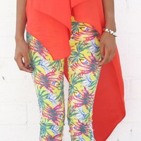 Tropical Skinny Jean