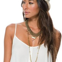 BILLABONG MIDDAY SLOWIN STRAW FEDORA
