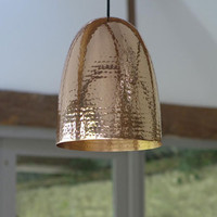 Original BTC Stanley Hammered Ceiling Pendant Range, Chandeliers & Ceiling Lights | Graham and Green Lighting