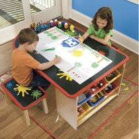 Kids Arts & Crafts Table