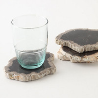Stone Forest Coaster by Anthropologie Neutral Motif One Size House & Home