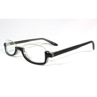 Black Feminine Half-Frame Anime Cosplay Glasses