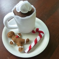 Christmas Cocoa - Felt Play Food