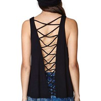Nasty Gal Back Story Tank