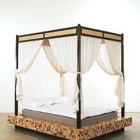 Hourglass by Brian Reid: Wood Beds | Artful Home