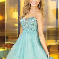 Alyce Short Dress 3571 at Prom Dress Shop