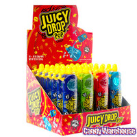 Juicy Drop Pops Candy: 24-Piece Box