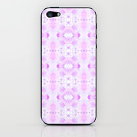 Entwined Deco Amethyst iPhone & iPod Skin by Lisa Argyropoulos