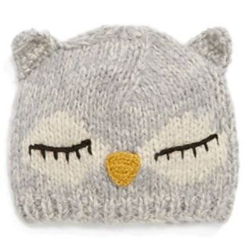 San Diego Hat Sleeping Owl Beanie (Girls) | Nordstrom