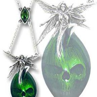 Absinthe Fairy Pendant at Every Witch Way Online Shop