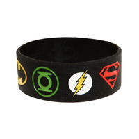 DC Comics Justice League Rubber Bracelet