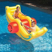 Swimline Sea-saw Rocker in Yellow