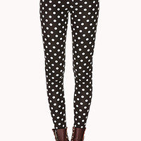 Quirky Polka Dot Leggings