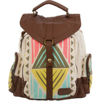 Billabong Women's Hayes Valley Strum Backpack Natural One