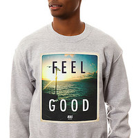The Feel Good Crewneck Sweatshirt in Heather Gray