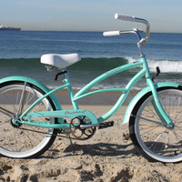 "Beachbikes Girl's 20"" Urban Beach Cruiser Bicycle"