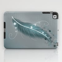 The magic feather iPad Case by LouJah