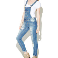 Porkchop Pocket Skinny Overall | Wet Seal