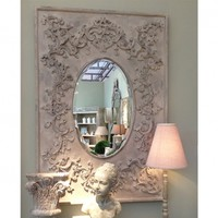 Trailing Trellis Mirror