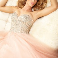 Beaded Ball Gown by Terani Couture Prom