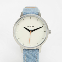 Nixon The Kensington Washed Out Leather Watch - Urban Outfitters