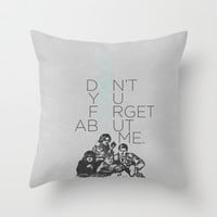 BREAKFAST CLUB... Throw Pillow by studiomarshallarts