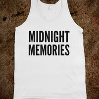 MIDNIGHT MEMORIES TANK TOP (IDA020212)
