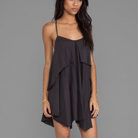 RVCA Racket Dress in Black Haze