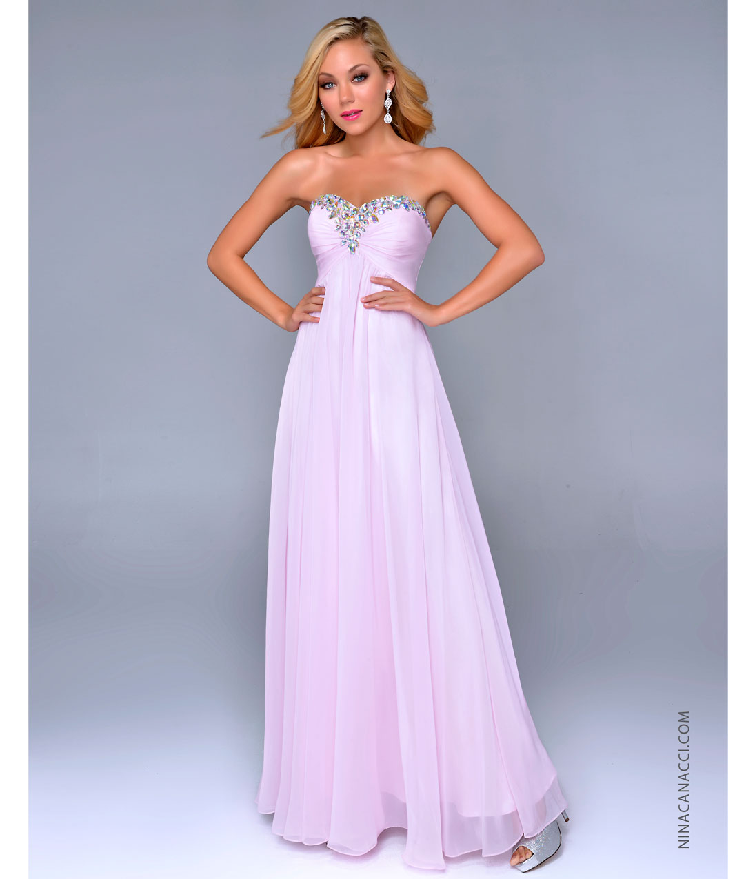 Baby Pink Prom Dresses - Long Dresses Online