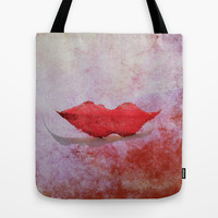 smile Tote Bag by Marianna Tankelevich