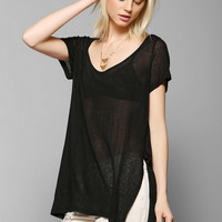BDG Side-Slit Perfect Tee - Urban Outfitters