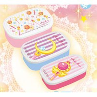 Sailor Moon 3P Stackable Bento Box Set **Preorder**