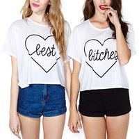 My Girls Crop Tee Set