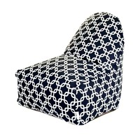 Printed Kick-It Chair - Links - Black