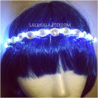 LED Bling Halo Crown for Festivals, EDC, EDM Raves or Concerts